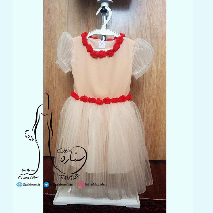 لباس بچه مدل گل رز